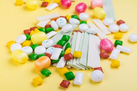 Assortment of bubble gum