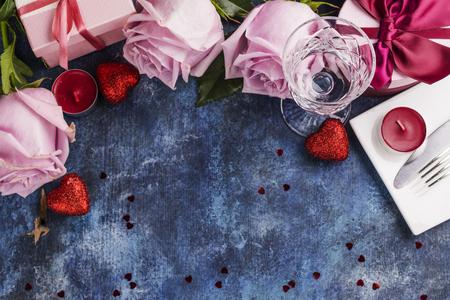 Valentines Day greeting gift Stock Photo