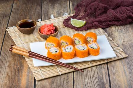 Philadelphia sushi rolls