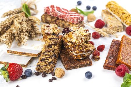 Barritas de cereales de granola caseras