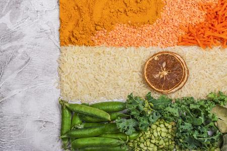 India independence day concept 版權商用圖片