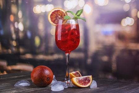 Italienischer Aperol Spritz-Cocktail