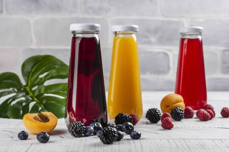 Fresh fruit and berry juices