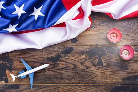 USA Patriotic day background Фото со стока