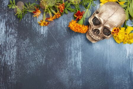 Mexican day of the dead background Banco de Imagens