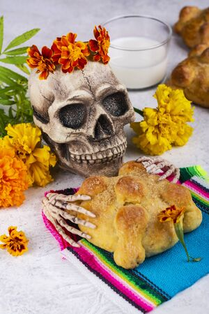 Mexican day of the dead background