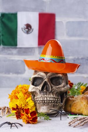 Mexican day of the dead background Stockfoto