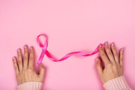 Breast cancer awareness background Stockfoto