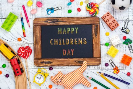 Childrens day background Stockfoto