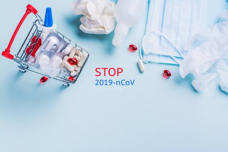 Stop coronavirus background