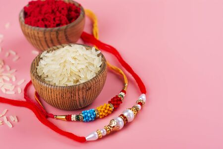 Indian festival Raksha Bandhan Фото со стока