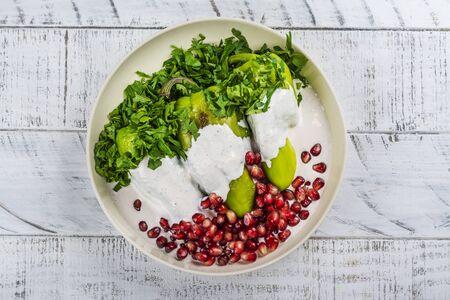 Chiles en nogada, mexican food
