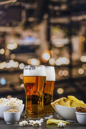 International beer day background