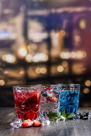Drinks for celebration 4th of july