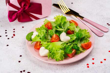 Valentines day salad