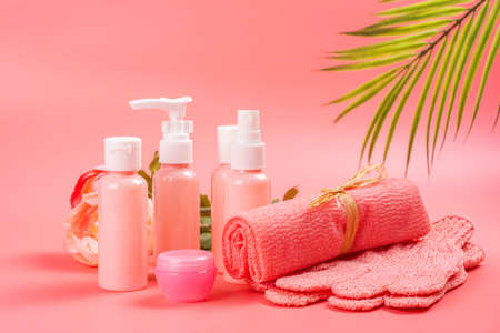 Spa, face and body care concept
