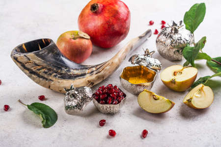 Rosh Hashanah holiday background