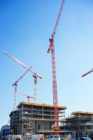 housing lot: Modern housing development Stock Photo