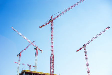 Modern housing development Stock Photo