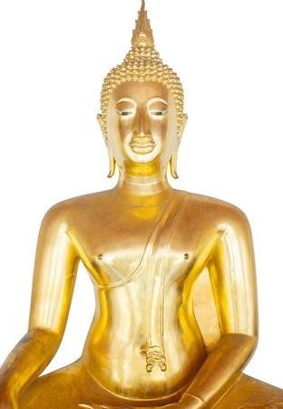 revere: The Golden Statue Of Buddha  Stock Photo