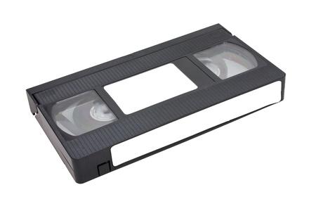 vhs videotape: Videotape Isolated On White Background
