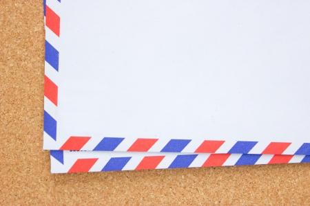 vintage envelope: Sobre Vintage bordo