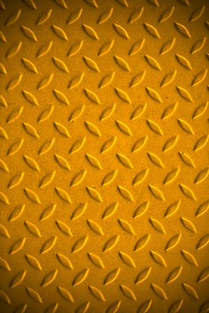 Yellow dirty metal pattern background  Stock Photo - 16396604