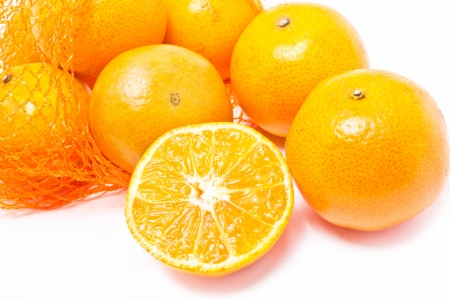 cleave: Group of oranges