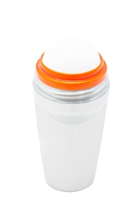 Clear space of deodorant bottle Stock Photo - 17173201
