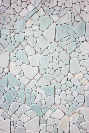 Mix shape of stones pattern as background  photo