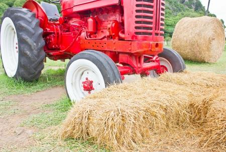 rick: Heap of hays with farmer