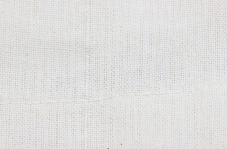 white linen: White fabric texture or background