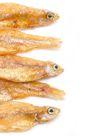 Small fried fish. photo
