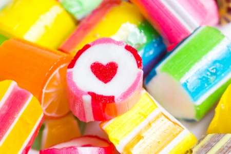 Close up colorful candies  Stock Photo - 20405391