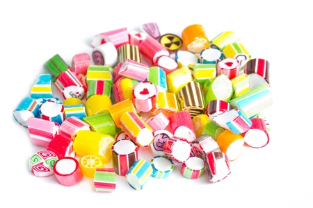 Close up colorful candies  Stock Photo - 20405412