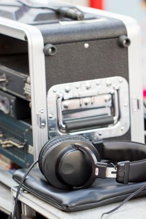 backstage: Head phone for backstage staff