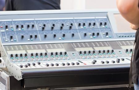 music production: Sound mixer