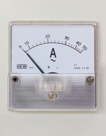 humidity gauge: Humidity gauge of rice mill machine.