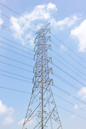 megawatts: Electric post in the sky