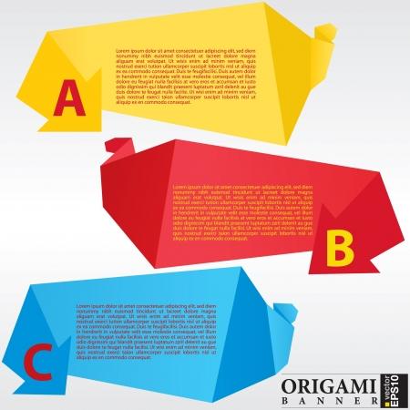 Resumen de origami bandera