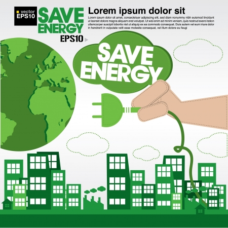 Green concept illustration