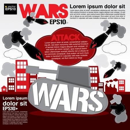 War concept illustration Stock Vector - 21222207