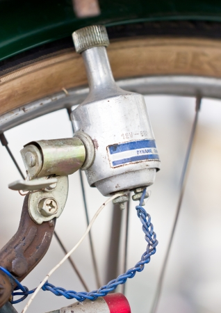 Old bicycles dynamo