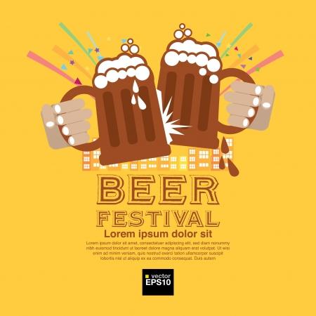 Beer Festival Stock Vector - 21894607