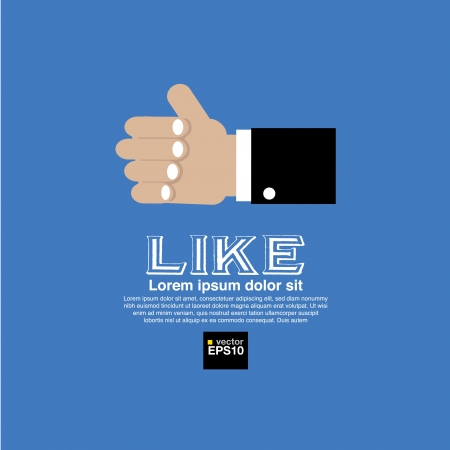 admiration: Illustration icon social networks
