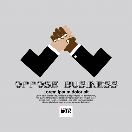 wrestle: The Opposition of Business Conceptual