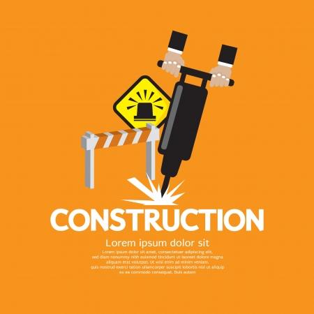 Construction Vector Illustration EPS10  Vector