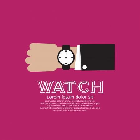 wristwatch: Wristwatch Vector Illustration EPS10 Illustration