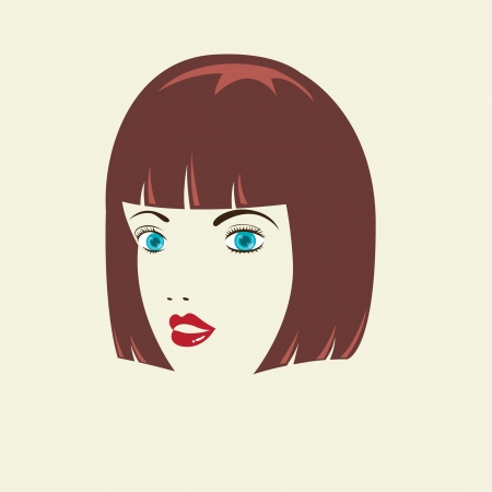 bob: Bob Woman HairStyle Illustration
