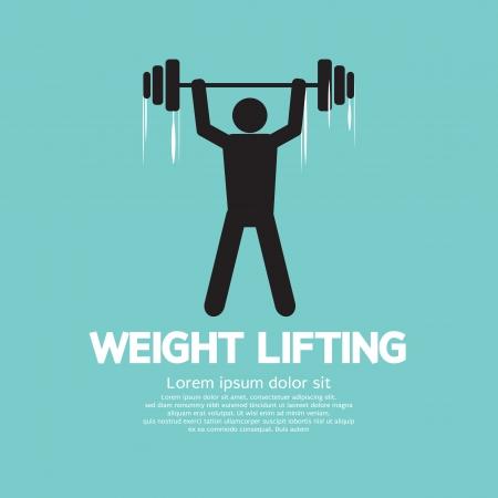 hombre levantando pesas: Weight Lifter Atleta